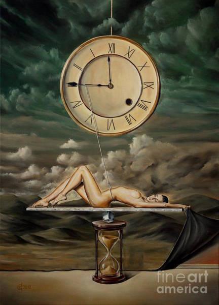 Magic Realism Painting - Illusion Of Time by Svetoslav Stoyanov