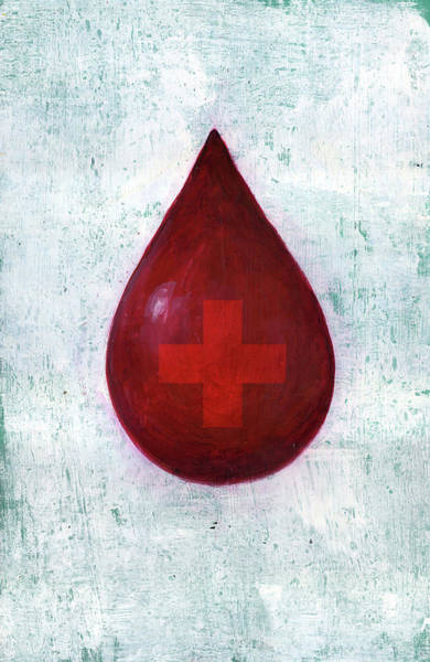 Wall Art - Photograph - Illustration Of Blood Donation by Fanatic Studio / Science Photo Library