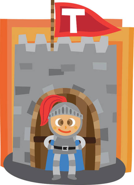 Word Play Photograph - Illustration Of Boy In Guard Uniform by Fanatic Studio / Science Photo Library