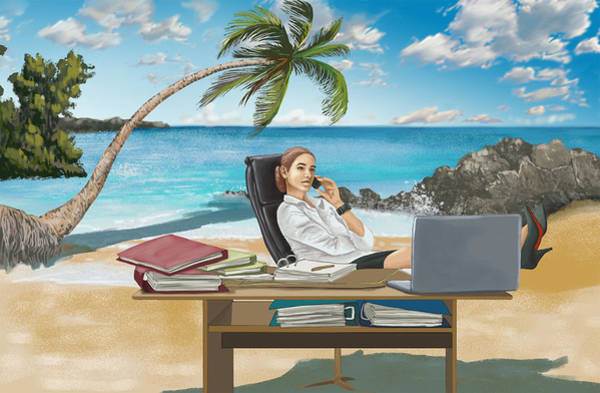 Wall Art - Photograph - Illustration Of Business Trip by Fanatic Studio / Science Photo Library