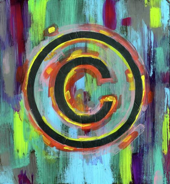 Copyright Wall Art - Photograph - Illustration Of Copyright Symbol by Fanatic Studio / Science Photo Library