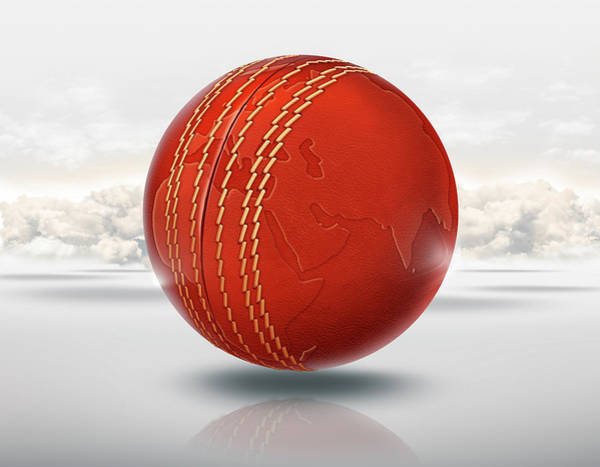 World Championship Photograph - Illustration Of Cricket World Cup by Fanatic Studio / Science Photo Library
