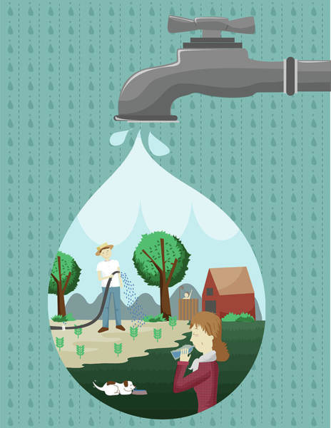 Wall Art - Photograph - Illustration Of Reforestation Concept by Fanatic Studio / Science Photo Library