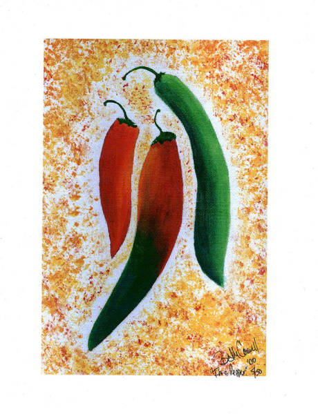 Painting - I'm A Pepper by Beth  Cornell