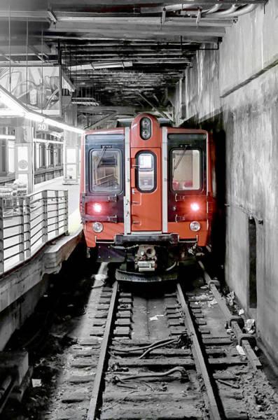 Pyrography - I'm Leaving On A Train by Paul Watkins