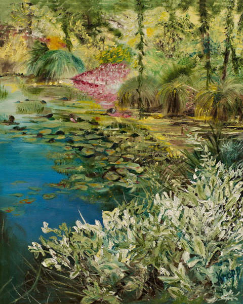 Painting - Image At Giverney by Kathy Knopp