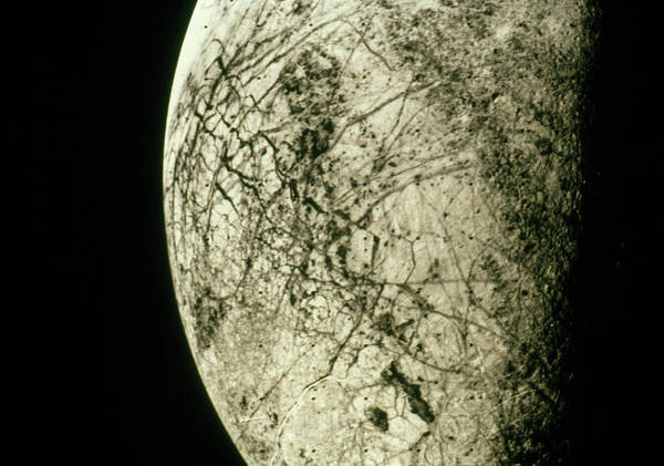Voyager Photograph - Image Of Europe by Nasa/jpl/science Photo Library