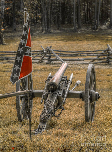 Artillery Digital Art - Images Of The Civil War Cannon by Randy Steele