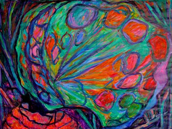 Painting - Imaginary Butterfly by Kendall Kessler