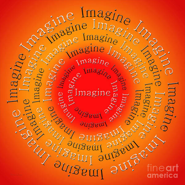 Digital Art - Imagine 5 by Andee Design
