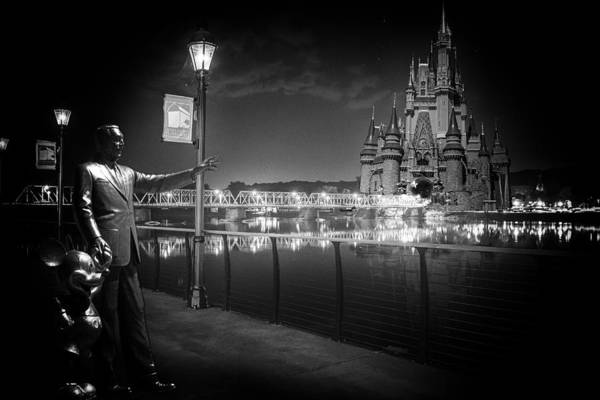 Mickey Mouse Photograph - Imagine If by Ryan Crane
