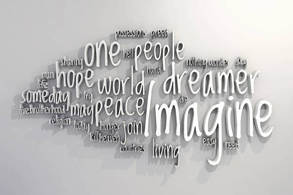 Dreamer Wall Art - Digital Art - Imagine by Scott Norris
