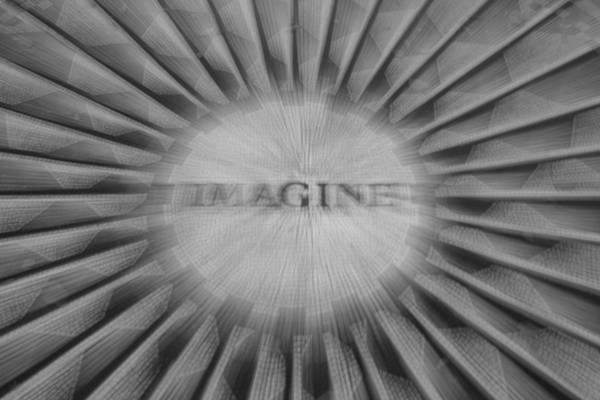 Homage Photograph - Imagine Zoom by Garry Gay