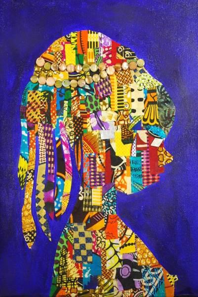 Tapestry - Textile - Imani by Apanaki Temitayo M
