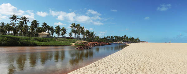 Bahia Photograph - Imbassai River And Beach by C. Quandt Photography
