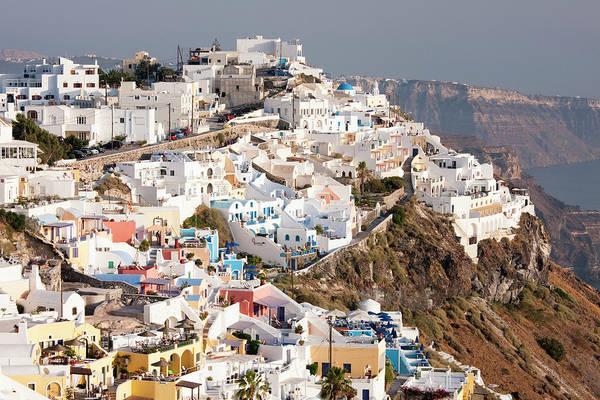 Greece Photograph - Imerovigli In Santorini, Greece by David Clapp