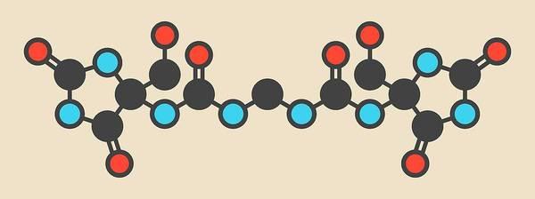 Wall Art - Photograph - Imidazolidinyl Urea Molecule by Molekuul/science Photo Library