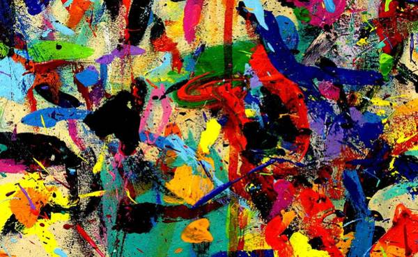 Abstract Expressionism Wall Art - Painting - Imma 53 by John  Nolan