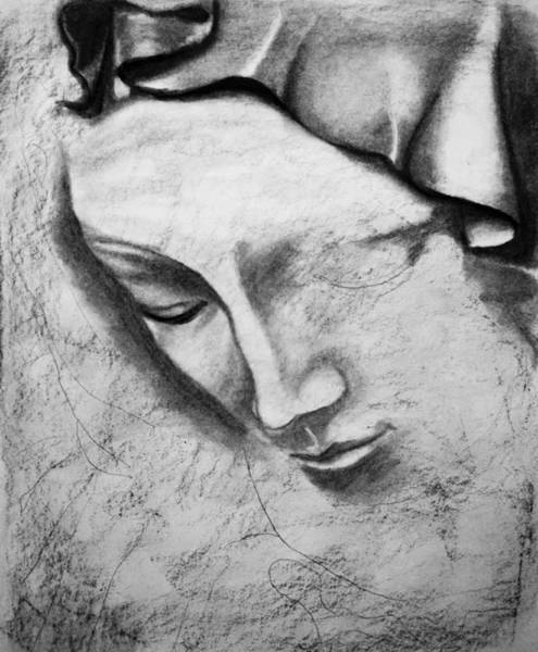 Drawing - Immaculate Conception by Giorgio Tuscani