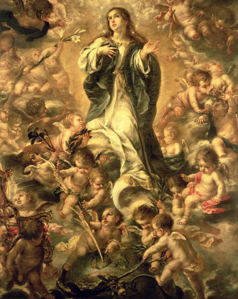 Immaculate Conception Wall Art - Painting - Immaculate Conception by Juan de Valdes Leal