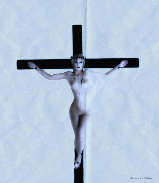 Crucifiction Wall Art - Photograph - Immerse Crucifix by Ramon Martinez