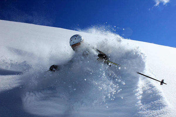 Photograph - Immersed In Powder by Johnny Adolphson