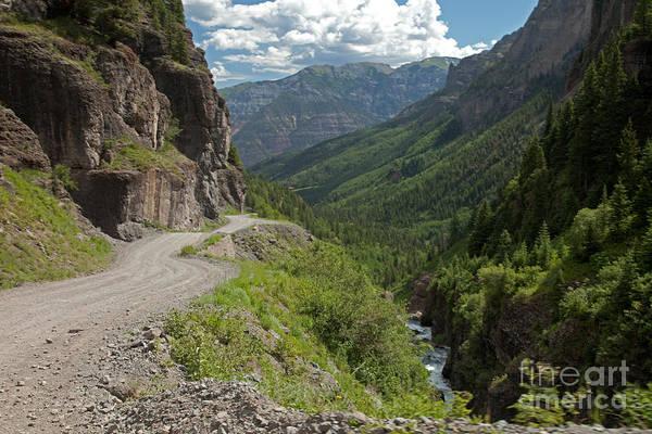 Photograph - Imogene Pass Road Near Imogene Basin by Fred Stearns