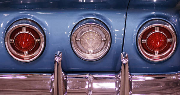 Photograph - Impala Tail Lights by Kristia Adams
