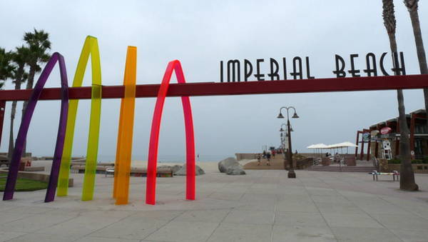 Photograph - Imperial Beach California by Jeff Lowe