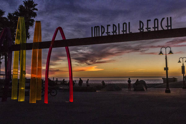 Digital Art - Imperial Beach by Photographic Art by Russel Ray Photos