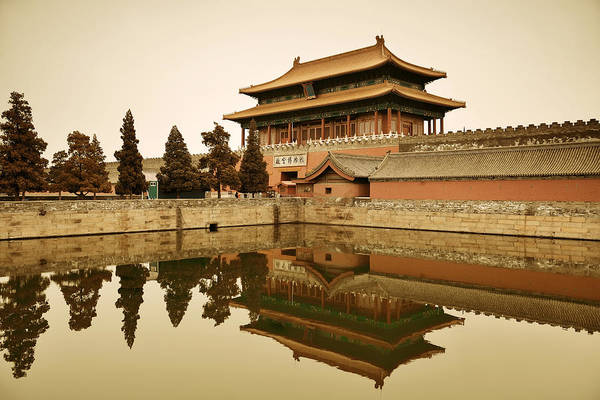 Photograph - Imperial Palace by Songquan Deng