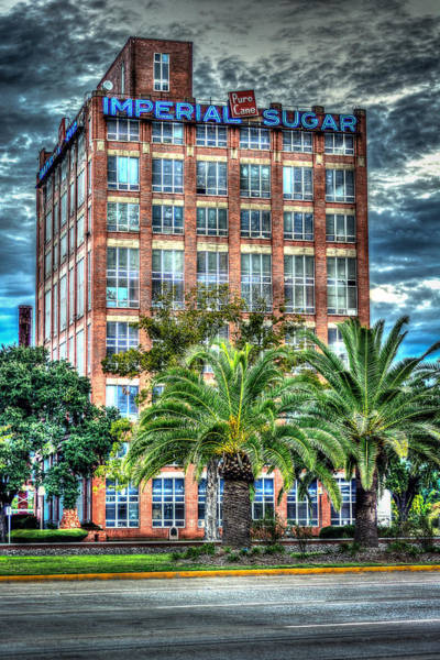 Photograph - Imperial Sugar Factory Daytime Hdr by David Morefield