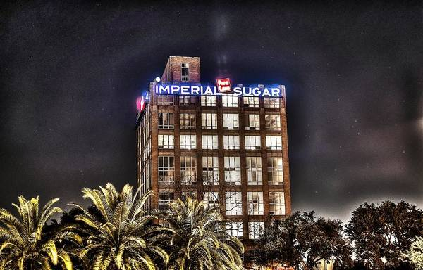 Imperial Sugar Mill Art Print