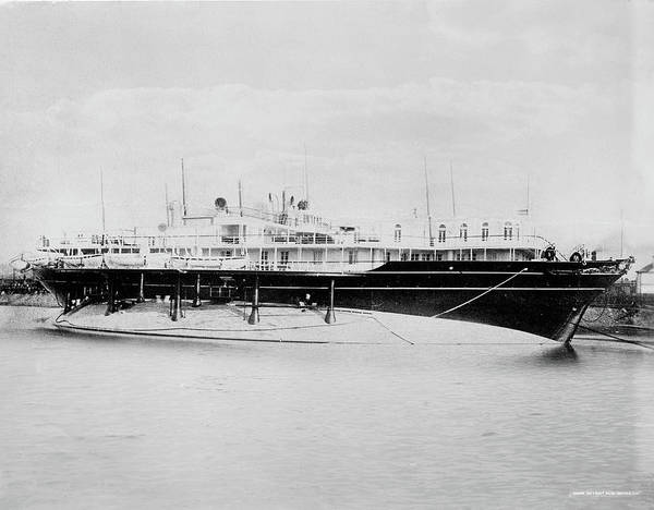 Imperial Russia Photograph - Imperial Yacht Livadia by Granger