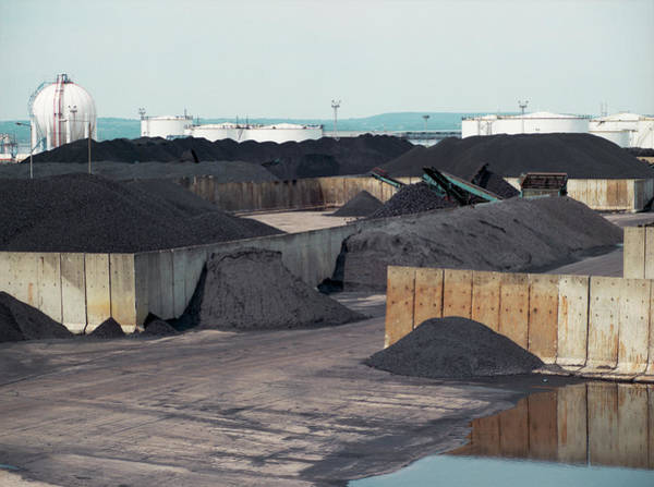Wall Art - Photograph - Imported Coal by Robert Brook/science Photo Library