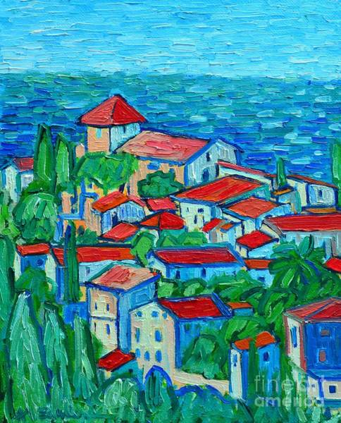 Painting - Impression From Mallorca by Ana Maria Edulescu