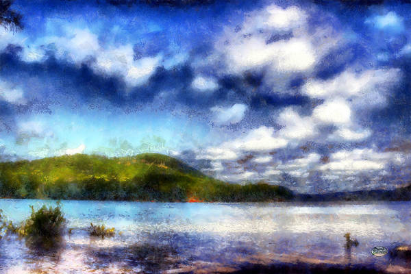 Digital Art - Impressionist Allatoona 2 by Daniel Eskridge