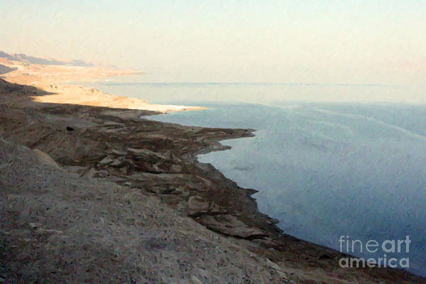 Photograph - Impressionist Of The Dead Sea by Doc Braham