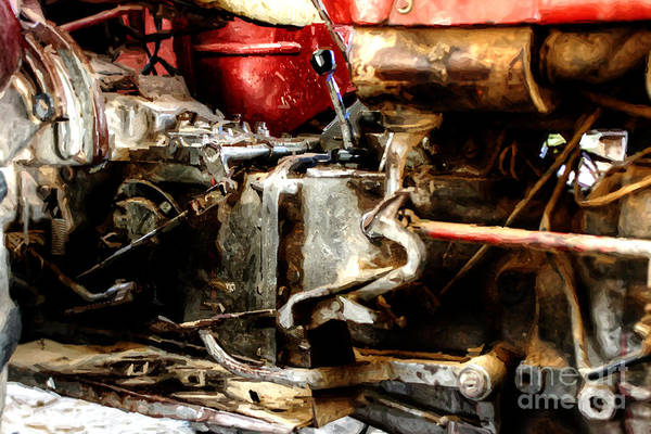 Photograph - Impressionist Tractor Series 2 by Doc Braham