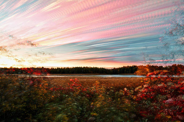 Wall Art - Photograph - Impressionistic Autumn by Matt Molloy