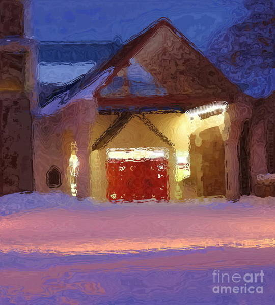 Muhlenberg Photograph - Impressionistic View - Trexler Library - Muhlenberg College by Jacqueline M Lewis