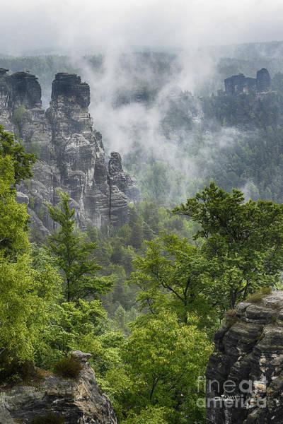 Photograph - Impressive Rock Structures by Jutta Maria Pusl