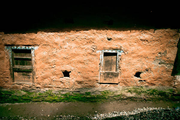 Photograph - impressive wall House Tibet by Raimond Klavins