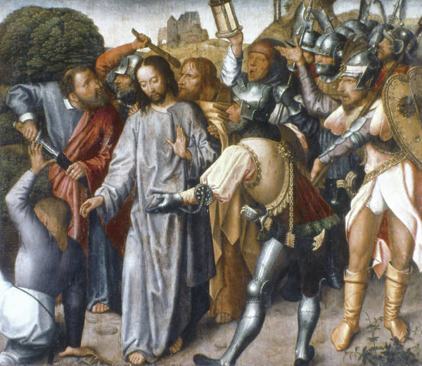 Painting - Imprisonment Of Jesus by Granger