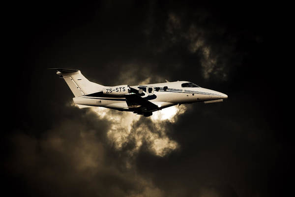 Kimberley Airport Photograph - In A Cloud by Paul Job