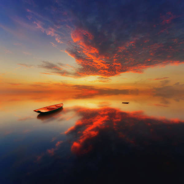 Wall Art - Photograph - In A Colorful Evening by Piotr Krol (bax)