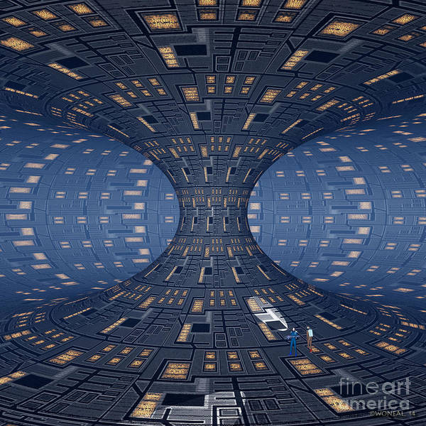 Digital Art - In A Perfect Space by Walter Neal