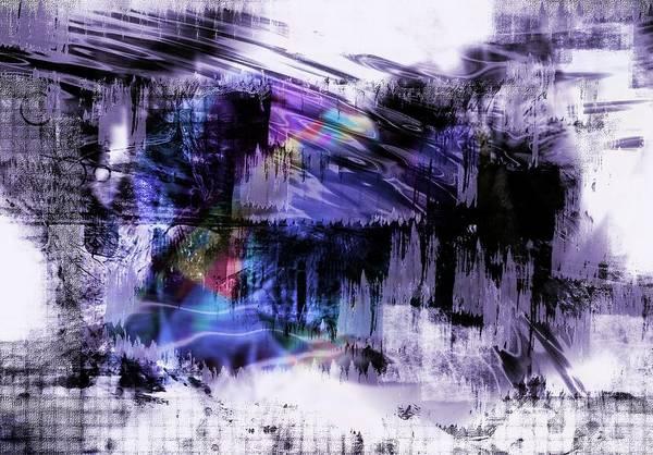 In A Violet Rhythm Art Print