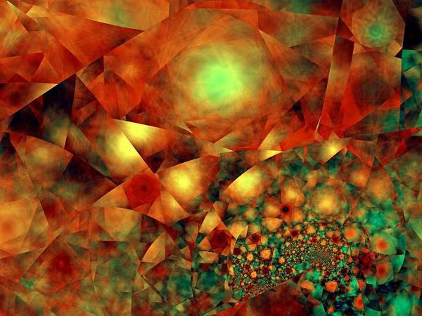 Elation Digital Art - In Another Sky by Kenneth Keller