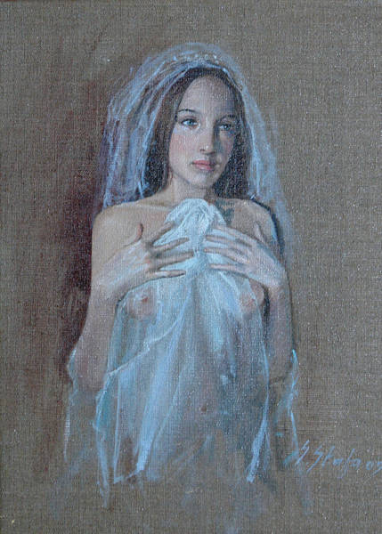 Painting - In Attesa Di Lui by Sefedin Stafa